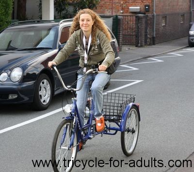 But no pensioner tricycle!