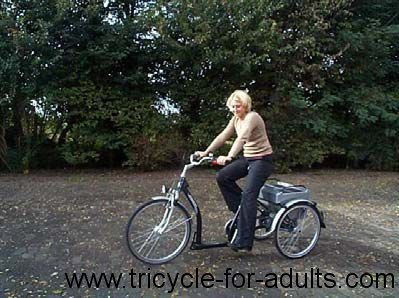 I get to ride tricycle for adults 2